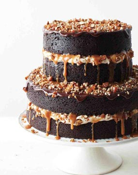 Chocolate Lovers Paradise Cake