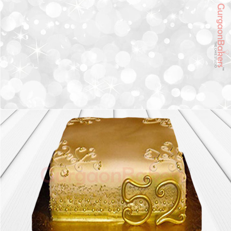 Golden Jubilee Cake