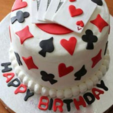 Pack of Cards Cake