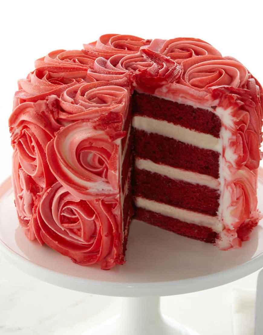 Red Velvet Cake Calories