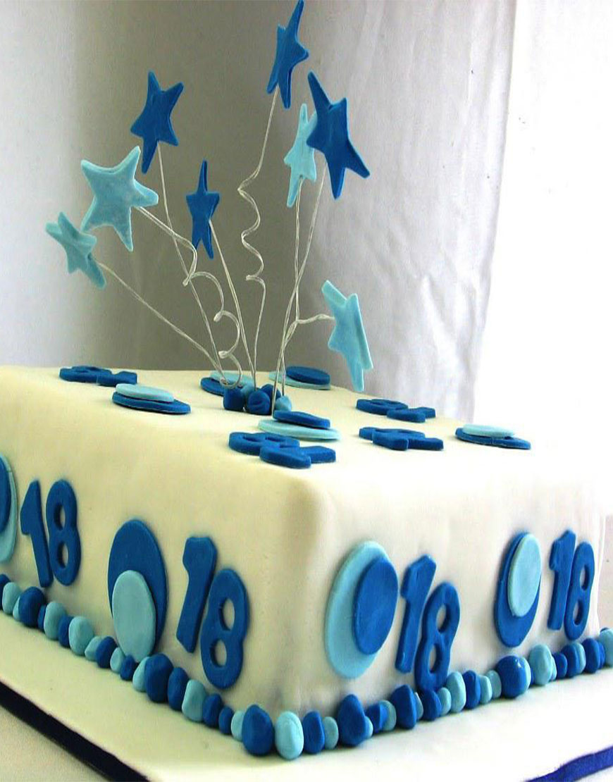 Stars in the Sky Birthday Cake