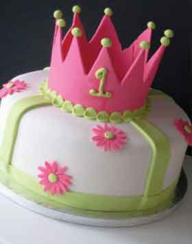 Tiara Birthday Cake