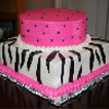 Two Tiers Birthday Cake