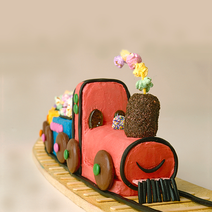 Brilliant Choo Choo Train Birthday Cake Order Cakes In Gurgaon Gurgaonbakers Funny Birthday Cards Online Fluifree Goldxyz