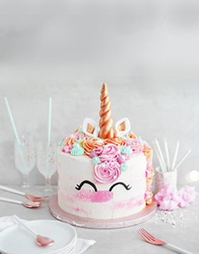 Special Unicorn Birthday Cake