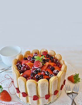 Birthday Special Fruit Cake