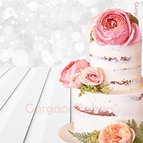 Cake with Full of Flowers