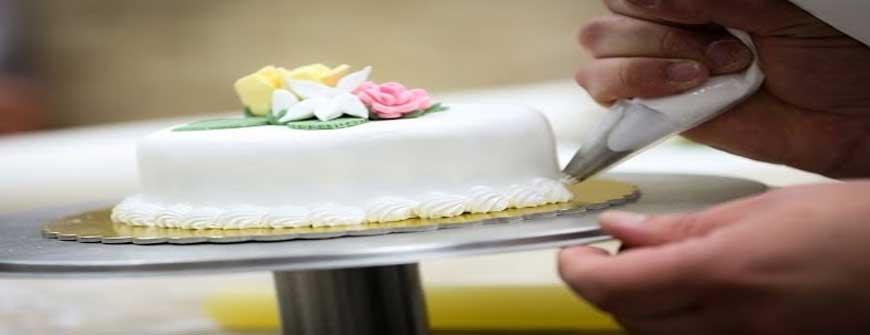 Art of cake decoration