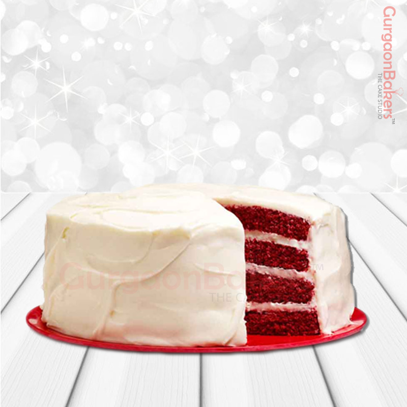 CREAM CHEESE RED VELVET CAKE