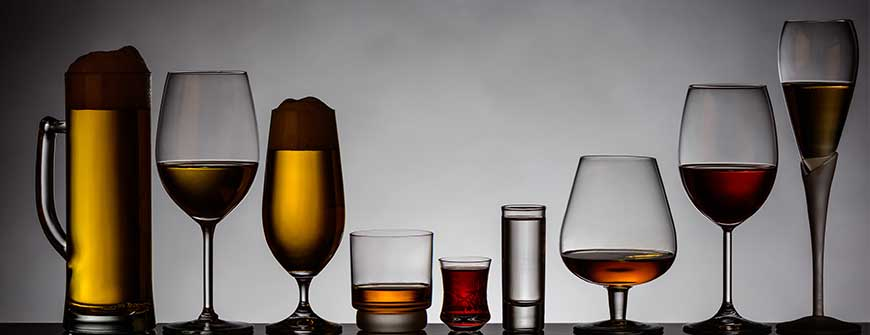 get an idea to add which alcohol and quantity