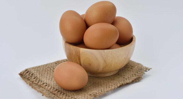 Bring eggs to room temperature