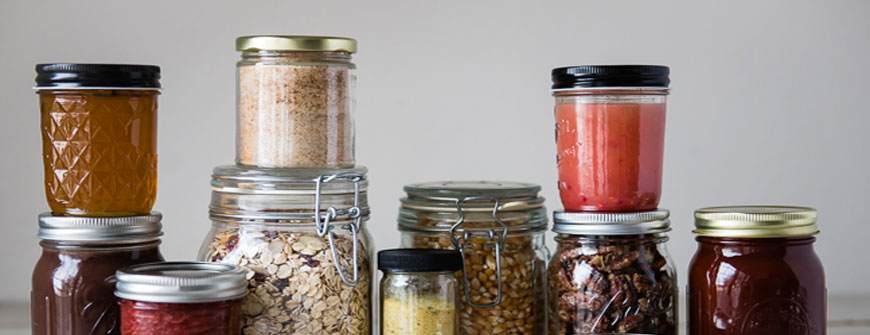 Food Jars for Gift packing