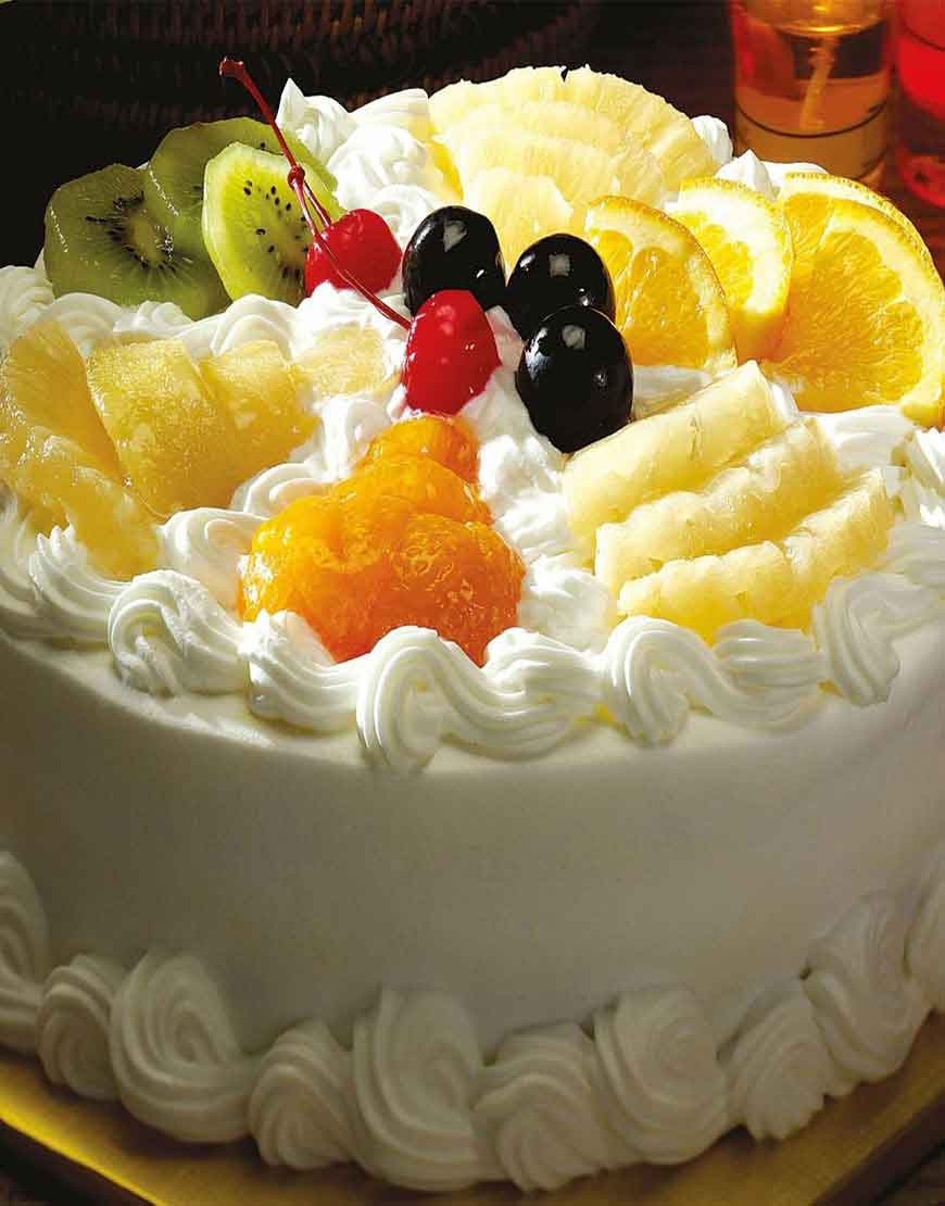 Fruits Basket Cake