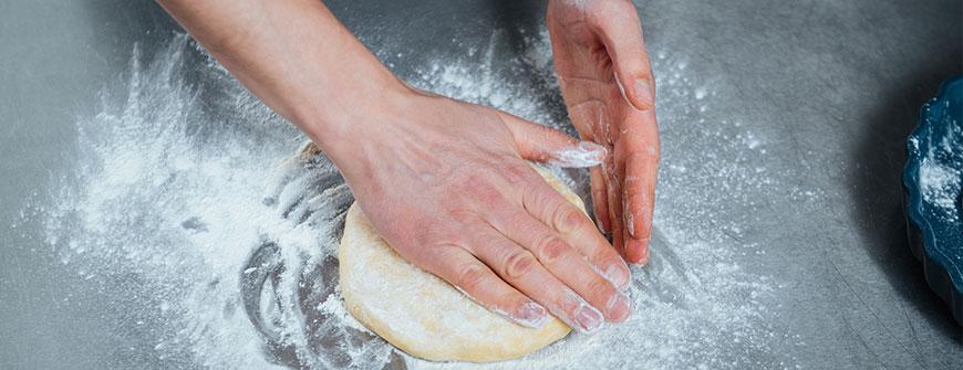 handling of cookie dough