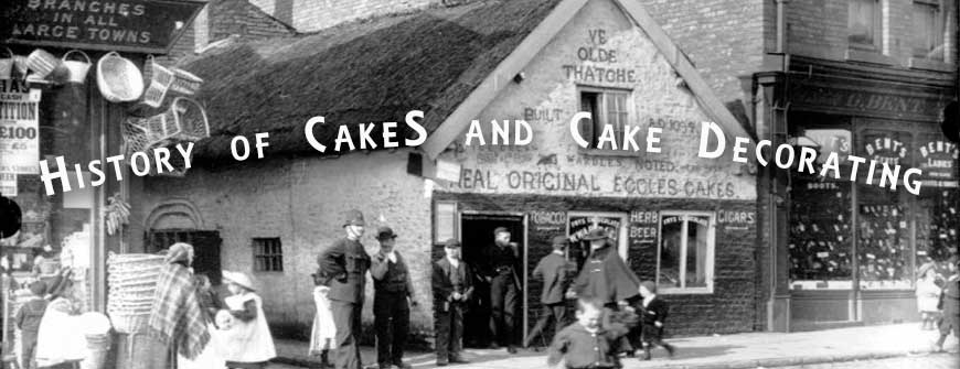 History of cake and its decorating