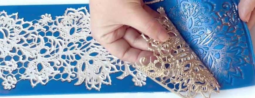 Handmade Edible Lace