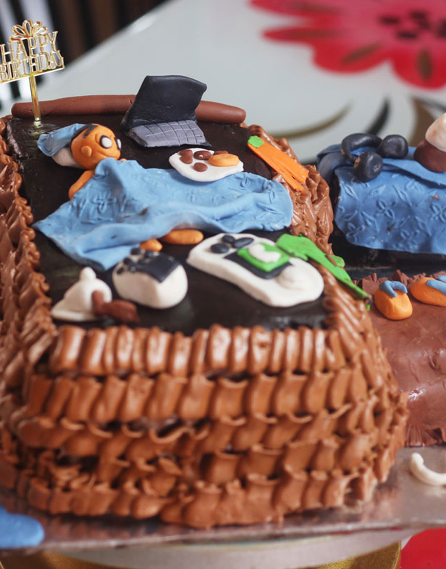 Funny Birthday Cakes For Men Gurgaonbakers